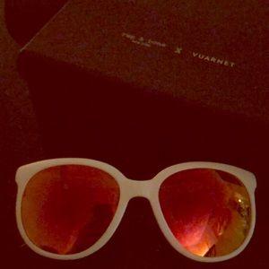Rag&bone x Vuarnet White sunglasses NWOT